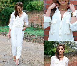 Celebrity Outfitter -  - Winter white
