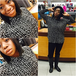 Anita Adesida - H&M Shirt, H&M Bottom, Charlotte Russe Boots - When in Rome