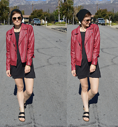 Bethany R. - Forever 21 Red Leather Jacket - Scarlet Witch
