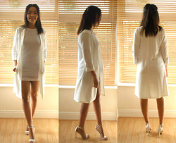 Kayla-Joleen D. - Primark Jacket, Asos Shoes, Topshop Dress - White then..