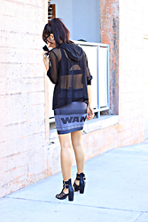 Indah Amelia - Alexander Wang Bodycon Skirt - Look back at it