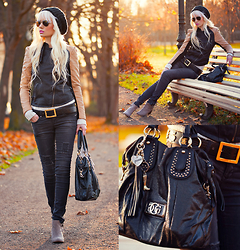 Oksana Orehhova - Tbdress Jacket, Guess? Bag - KEEP CALM AND BE CASUAL