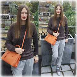 Amina Allam - American Apparel Jumper, Prada Bag, American Apparel Baggy Pants, Chanel Sneakers - Leaving for Cape Town