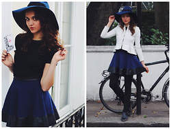 Larissa (Larz) May - & Other Stories Hat, Office Uk Shoes, Topshop Jacket - NOTTING HILL