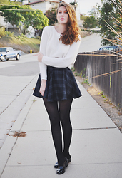 Jade Elise - Diy Skirt - November weather