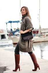 Luba { Well Living Blog } - Max And Co Bag - Oversized vest