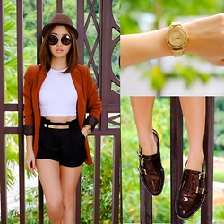 Kryz Uy - Miista Oxfords, Timex Watch - Time Out + Giveaway