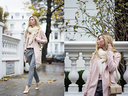 Valeriia Volkova - Sheinside Coat - NOTTING HILL