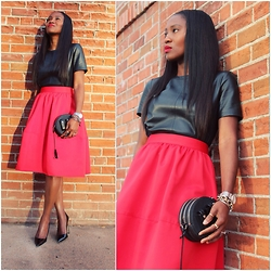 Ranti Onayemi -  - Black//Leather//Red