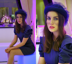 Panda Mone - Vintage Hat - Fashion Show Look : Cloo & MN Bridal.