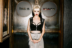 Stav Monskey - Kokon To Zai Church Embroidered Backpack, Nasty Gal Harness Bra, Lip Service Buckle Bustier, Malene Birger Pleated Chiffon Skirt, Nasty Gal Play Ball Bracelet - This is heaven