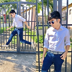 Jared Caagbay - Zara Basic Suit, Oxygen Biker's Jeans, Sunnies By Charlie - Leap not Jump