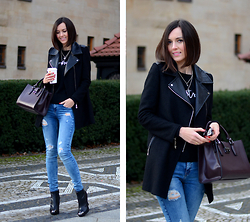 Daisyline . - Mango Bag, Zara Jeans - Simple look with jeans