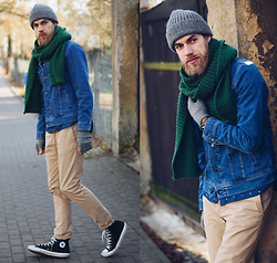 Adam G. - Lee Jacket, Sloi Beanie - YOU'RE ALWAYS GOOD...