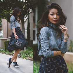 Stephanie Liu - Le Lis Sweater, Le Lis Skirt - Le Lis