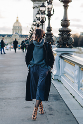 Alex Closet - Asos Coat, Monki Pants - Shades of grey