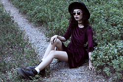 Vu Thien - Desireclothing Velvet Dress - LIFE IS LONELY