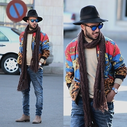 Faissal Yartaa - North22 Bergen, Soorty Blue Jeans - #STREETFASHION