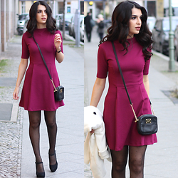 Vania - Asos Dress, Michael Kors Bag - Berry Berlin