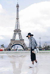 Alex Closet - Asos Jacket, Asos Dress - Winter in Paris w/ Asos