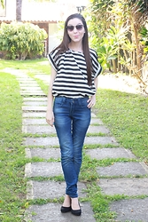 Karine Clessia - Oasap Black And White, Hering Jeans - Jeans, black and white