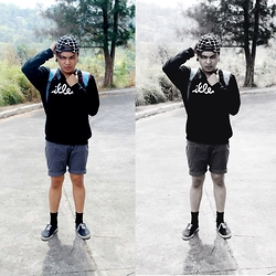 Rex Dela Cruz - Illest Black Sweater - BM