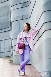 V for Visala . - Sophie Hulme Bag, Superga Versus X Sneakers, Stylestalker Pants - A NEW TRY