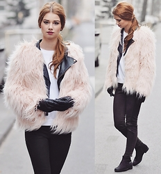 Iga Wysocka - Missguided Fur - Faux fur