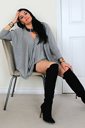 Manuela L - Labelshoes Thigh High Boots - THINKING IS CREATING