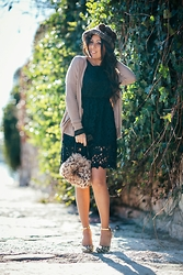 ManueLita - Elisabetta Franchi Cardigan, Choies Dress, Anton Giulio Grande Bag, Tidebuy Shoes - Shabby Moments