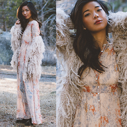 Stephanie Liu - Free People Jacket, Free People Dress - Woodland