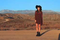 Judy L - Urban Outfitters Trapeze Dress, Jeffrey Campbell Mulder - Wild Wild West