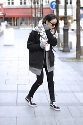 Alex Closet - Asos Scarf, Vans Shoes - Karma