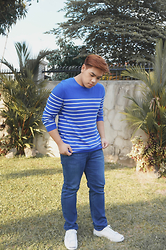 Seff Francisco - Gap Sweater, Uniqlo Denim - S/W Weather