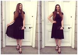 Helen D* - Ghost London Black Dress - * Back To Black *