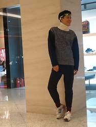 Zhao Tailei - 3.1 Phillip Lim Top, H&M Pants, Adidas Shoes - Today look