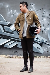 Style Detective Men's Lookbook -  - Military Vibes