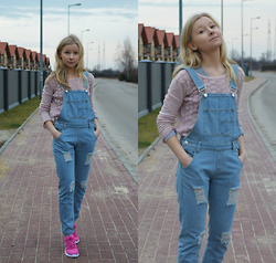 Agnes P. -  - When in doubt, wear DUNGAREES