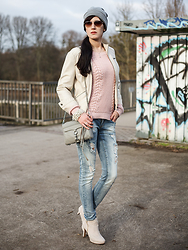 Jane Wilke - Soliver Boots, Only Jeans, Rebecca Minkoff Bag, Only Jumper, Vero Moda Jacket - Wild romance