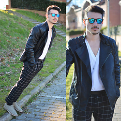 Alessio Convito - Zara Jacket, Asos Pants, Amsterdam Shoe Co Shoes - Past+Future
