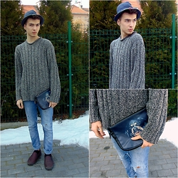 Mateusz K. - Pull & Bear Jeans, Zara Shoes - More time...