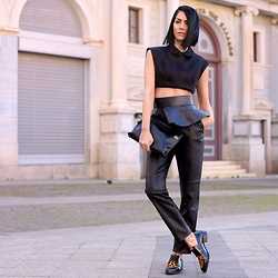 Konstantina Tzagaraki - Top, Pants, Flats, Loewe Bag - When it's over no one cares what you did..