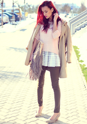 I dare you To be fashion - Top, Sweater, Pants - Casual look