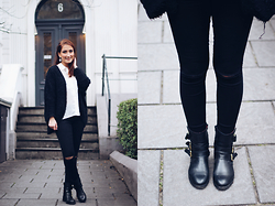 Vivien Sophie - Buffalo Shoes, Only Jeans, H&M Top, Primark Cardigan - Classy & Casual | aclassymess.com