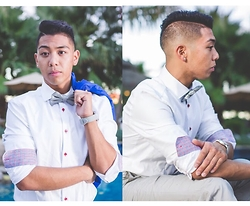 Gary Agunos - H&M Button Up, H&M Gray Bowtie, Cotton On Gray Wrist Watch - Oldie but a Goodie