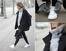 Mónica Sors - Stan Smith Sneakers, Sheinside Jumper - STAN SMITH - MINIMAL CHIC