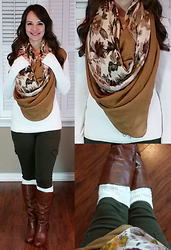 Amie - Cable Knit Boot Cuffs - Southern Belle
