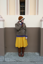Tatjana Dmitrovic Drljan - Asos Skirt, Taktata Jacket, Lee Cooper Jumper, Vintage Boots - Any Time, Any Place