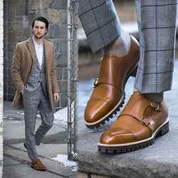 Marcel Floruss - Bally Double Monk Straps - Traction