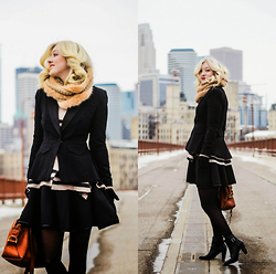 Olivia Taylor - Target Blazer, Free People Sweater, Forever 21 Dress, Madewell Bag - Minneapolis